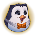 Hype_Pengu_Orange_Emote